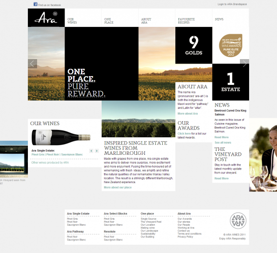 ARA single-estate wines from Marlborough | ARA