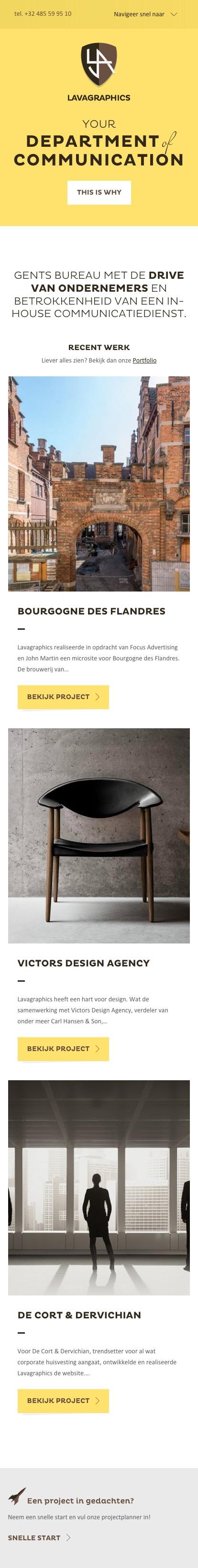Communicatie-en grafisch ontwerpbureau in Gent